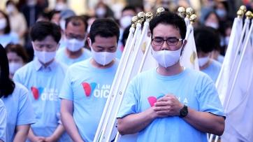 통일 위한 800차 기도회 개최
